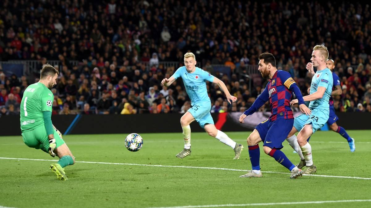 Lionel Messi fue duramente acusado por un arquero rival