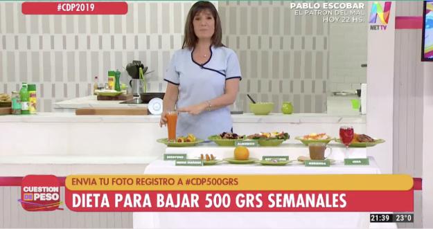 Dieta 500 gramos semanales