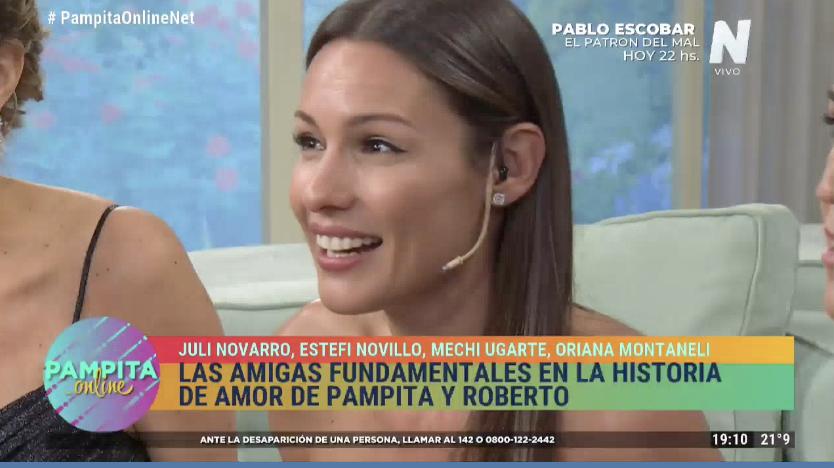 Pampita escuchó un revelador audio de Roberto García Moritán