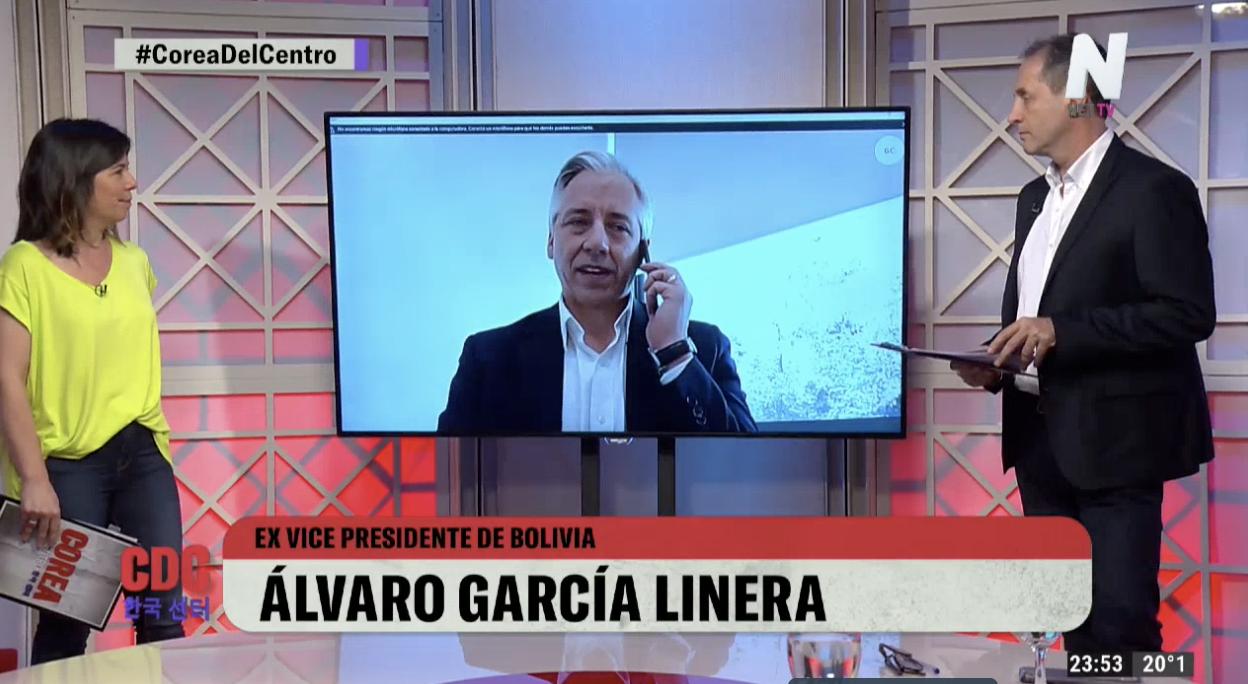 Álvaro García Linera explicó por qué Evo Morales decidió ir por un cuarto mandato