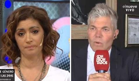 Carla Conte y Fernando Burlando