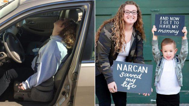 Fue hallada al borde de la muerte por sobredosis y ahora cambió su vida completamente