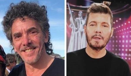 Maximiliano Guerra y Marcelo Tinelli