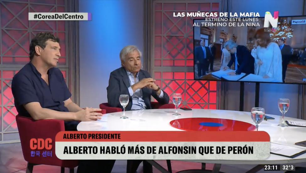 Marcos Novaro y Eduardo Fidanza