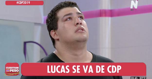Lucas Cuestión de Peso