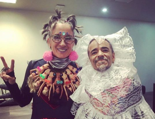 Andrea Echeverri y Rubén Albarrán