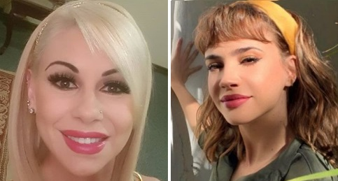 Mónica Farro y Celeste Cid