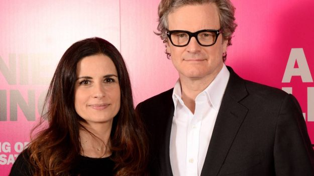 colin firth esposa