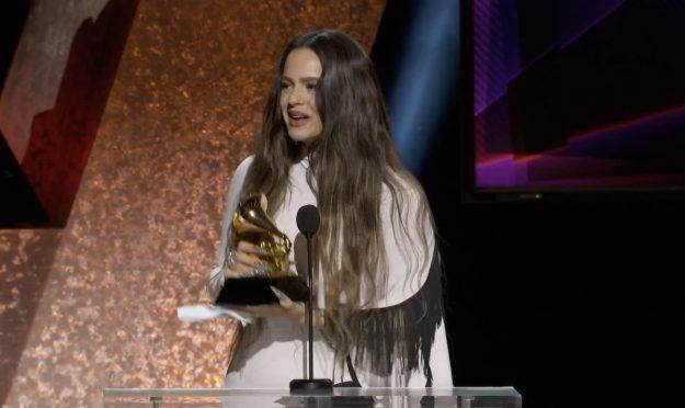 Rosalia en los Grammy 2020