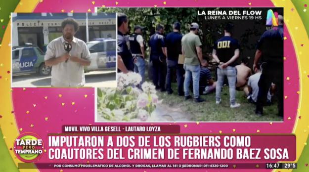 Reporte caso Fernando Báez