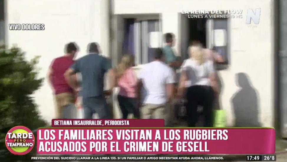 Visitas en la cárcel a los atacantes de Fernando Báez