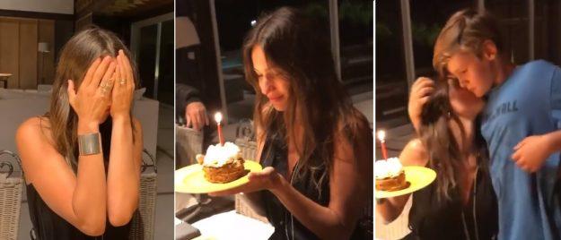 cumpleaños pampita