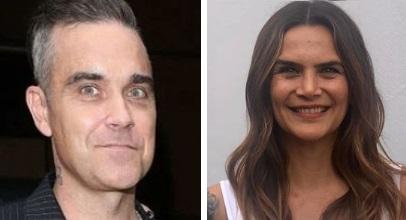 Robbie Williams y Amalia Granata
