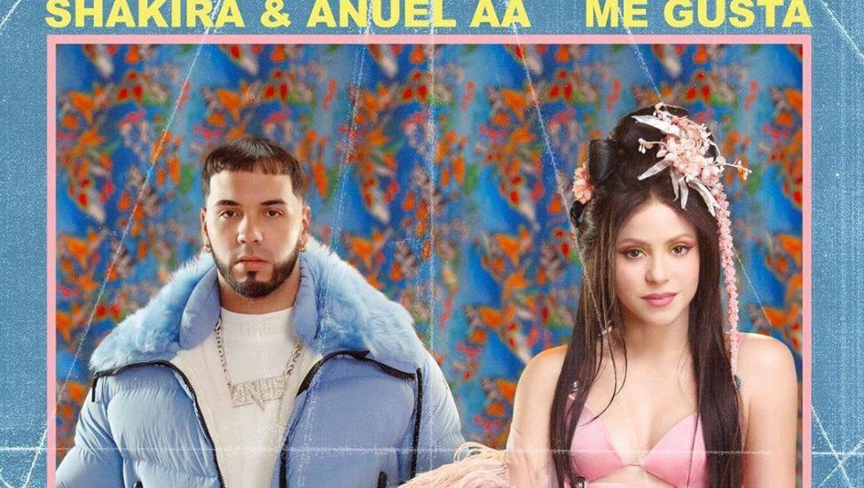 Shakira y Anuel AA Me Gusta