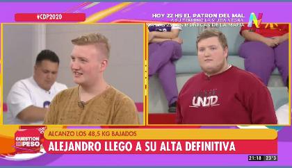 Alejandro Cuestión de Peso