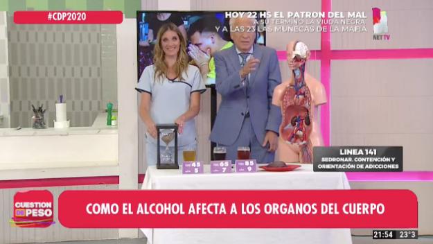 Cómo afecta el alcohol a los órganos