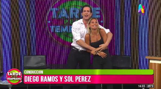 Diego Ramos y Sol Pérez