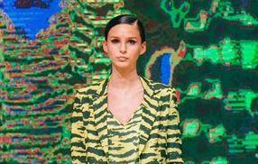 Con Marcelo en primera fila, Juanita Tinelli debutó como modelo