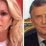 Yanina Latorre y Mauricio Macri