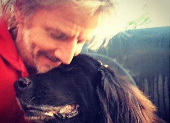 Facundo Arana se emocionó al despedir a su perra con unas hermosas palabras