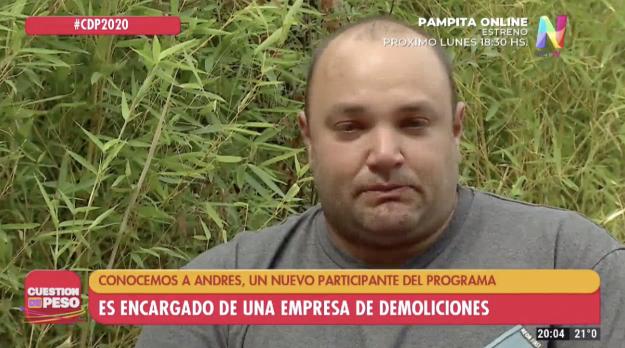 Andrés Cuestión de Peso