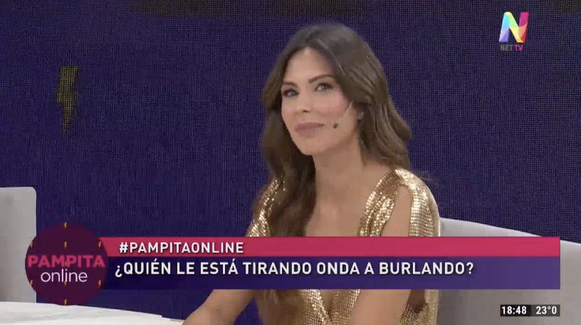 Barby Franco se enojó con una mujer por Burlando