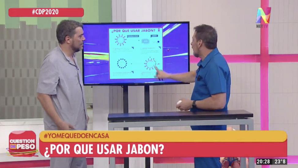 Dr. Adrián Cormillot y Lic. Sergio Verón