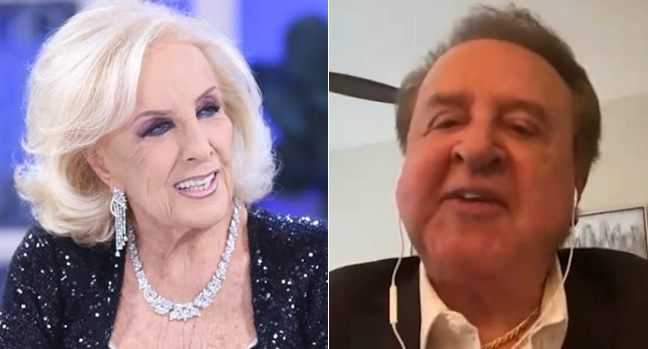 Mirtha Legrand y Carlos Villagrán