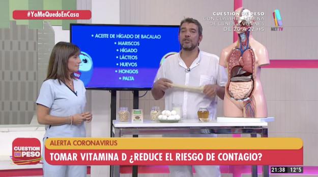 Dr. Adrián Cormillot y Lic. Cecilia Garau