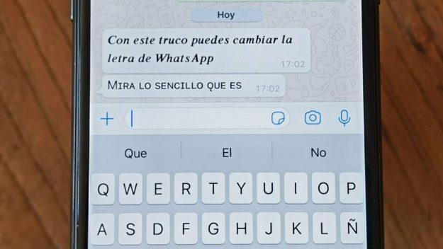 WhatsApp y un truco para darle tu toque personal a las conversaciones
