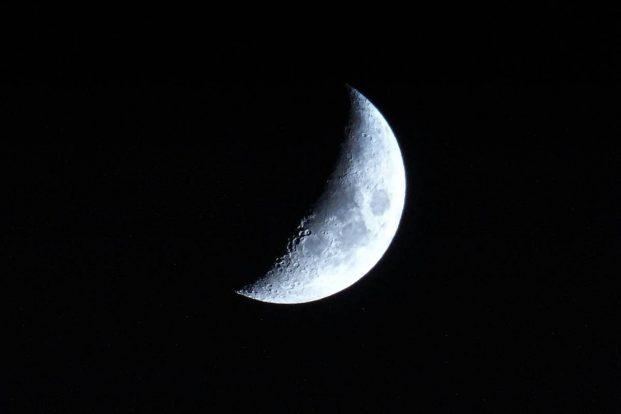 cuarto creciente luna hoy 30 de abril