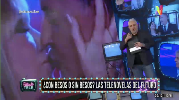 Editando Tele sobre besos en las telenovelas