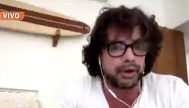 """Luciano Castro: """"Se están ca… de hambre y me subís los huevos"""""""