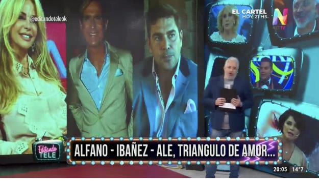 Alfano, Ibañez, Alé en Editando Tele