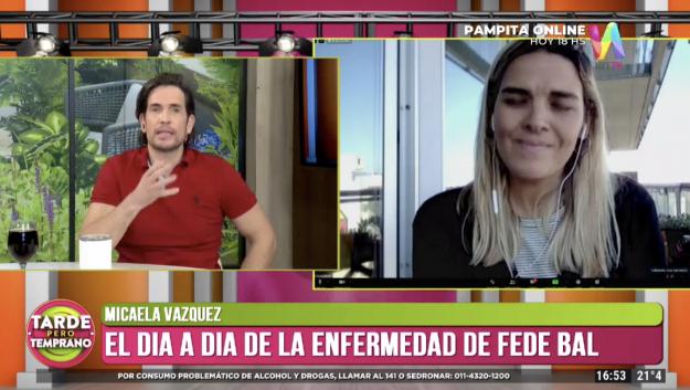 Micaela Vázquez en Tarde Pero Temprano