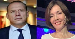 Sergio Berni y Cristina Pérez