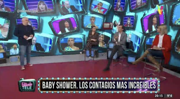 Baby Shower clandestino Editando Tele