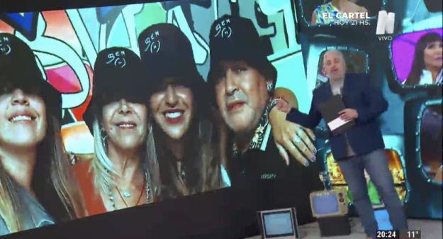 Familia Maradona Editando Tele