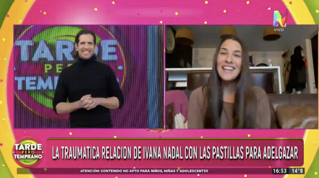 Ivana Nadal en Tarde Pero Temprano