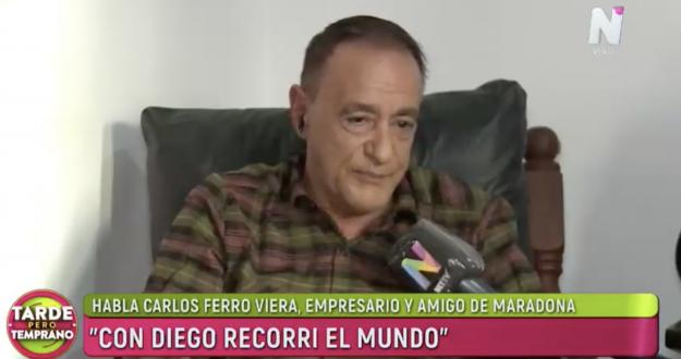 Carlos Ferro Viera en Tarde Pero Temprano