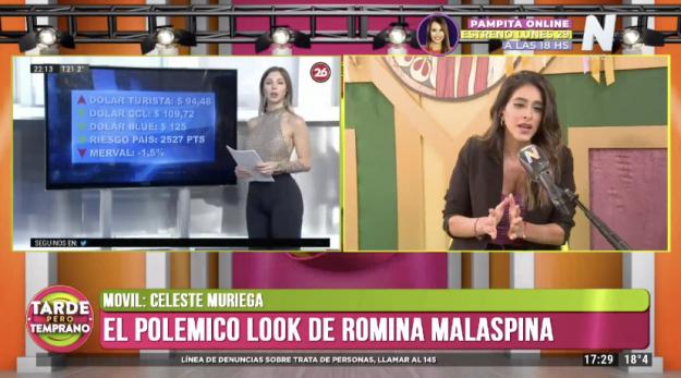 Celeste Muriega en Tarde Pero Temprano