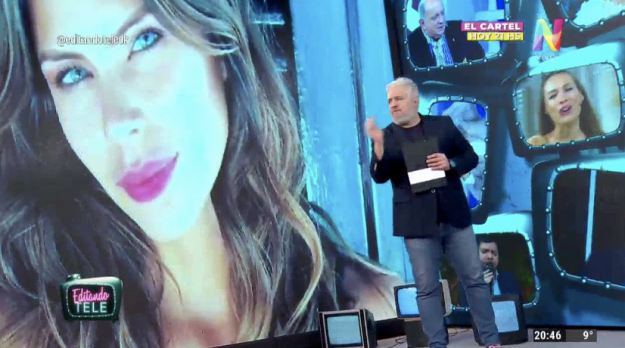 Barby Franco Editando Tele