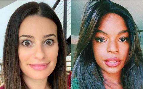 Lea Michele y Samantha Ware