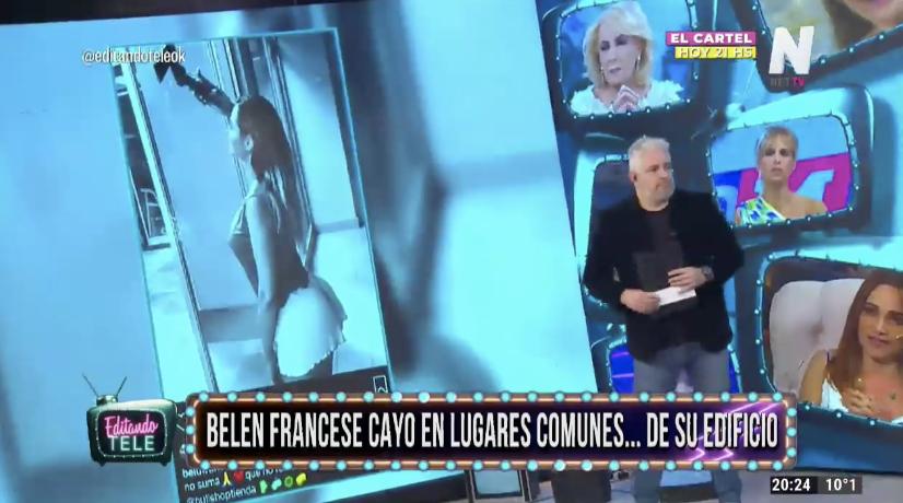 Belén Francese Editando Tele