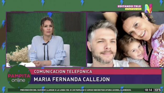 María Fernanda Callejón en Pampita Online