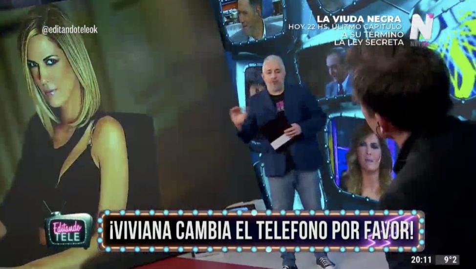 Viviana Canosa Editando Tele