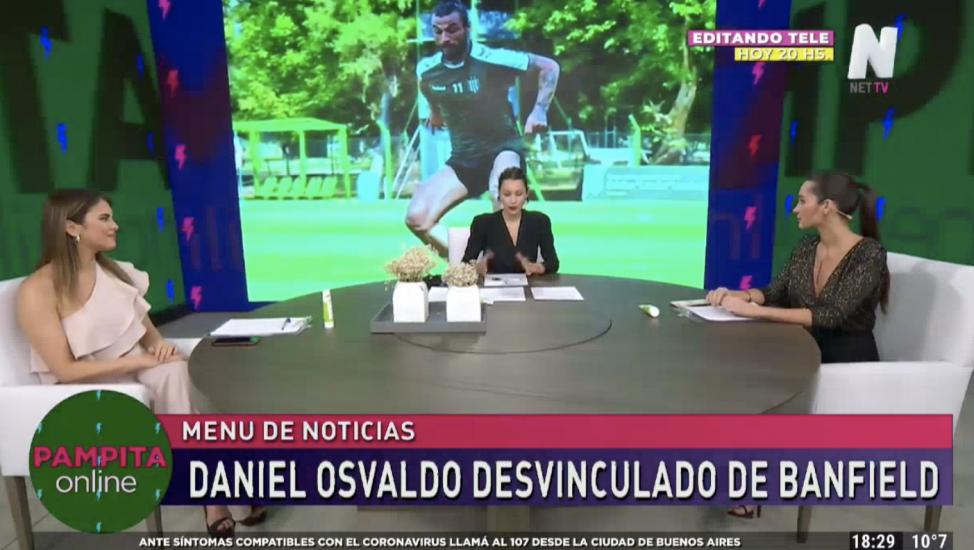 Pampita Online sobre daniel Osvaldo