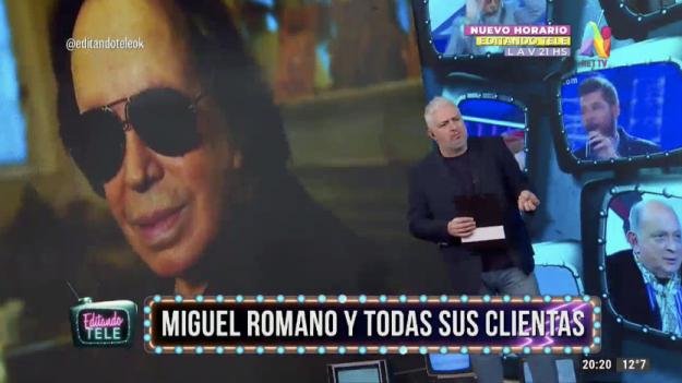 Miguel Romano Editando Tele