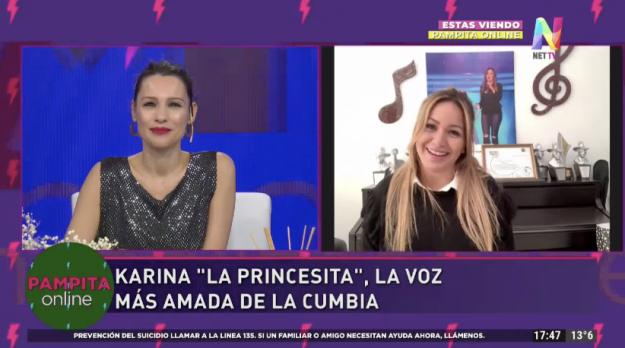 Karina La Princesita en Pampita Online
