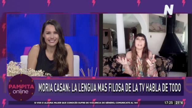 Moria Casán en Pampita Online